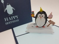 Paperbear Happy Birthday Pengu