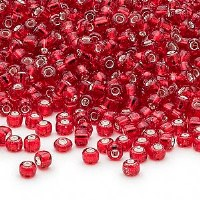 11/0 Seed Bead Red SL 20g