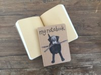 Alex Clark Notebook Black Lab