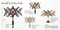 Umbrella Swift Yarn Winder Adj