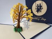 Paperbear Wedding Day Swing
