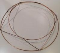 Raised Wreath Ring 25cm