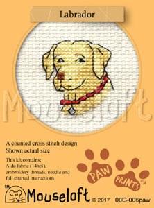 Mouseloft Paw Prints Labrador