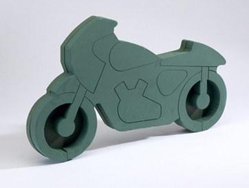 Motor cycle florist foam pre cut shape