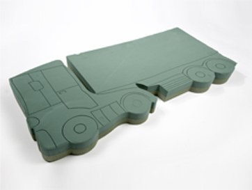 Lorry florist foam shape
