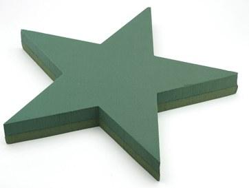 5 point star florist foam shape
