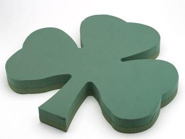 Oasis floral foam Shamrock shape