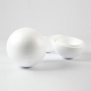 25cm polystyrene spheres