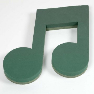 Oasis Floral Foam Ideal Musical Note