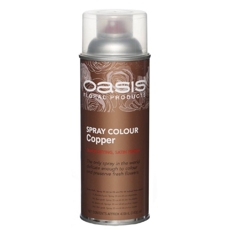 Copper Oasis florist spray paint,400ml