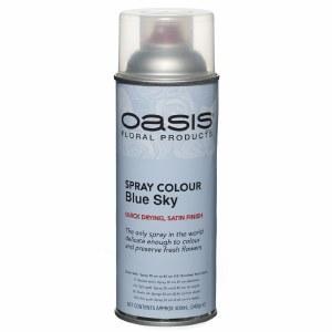 Blue sky Oasis florist spray paint,400ml