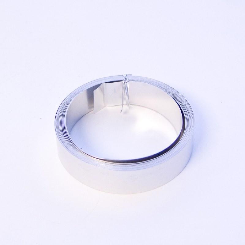 Flat silver wire 30mmx0.5mmx5m