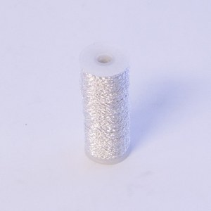 Florist Bullion Wire Silver 0.3mm x 100g