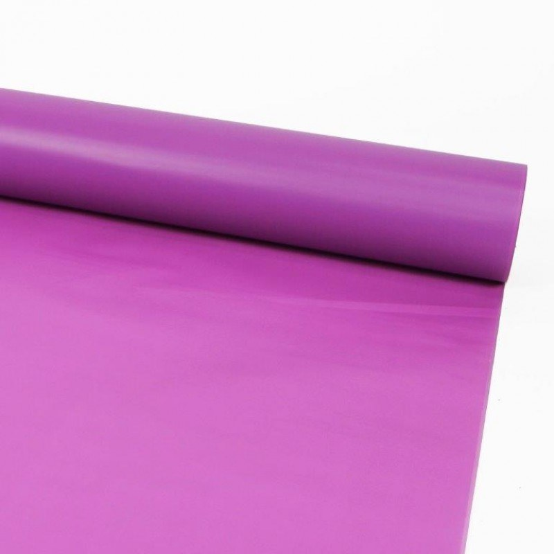 Florist Cellophane Frosted Wrap Strong Pink 80cm x80m