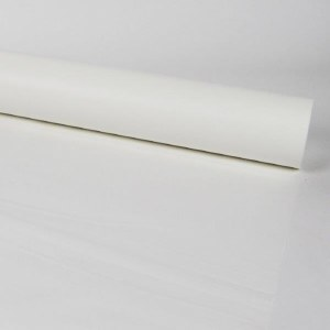 Florist Cellophane Frosted White 80cm x 80m