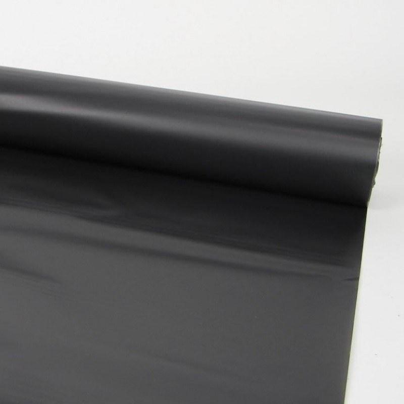 Florist Cellophane Wrap Frosted Black 80cm x 80m