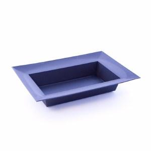 Designer bowl black rectangle
