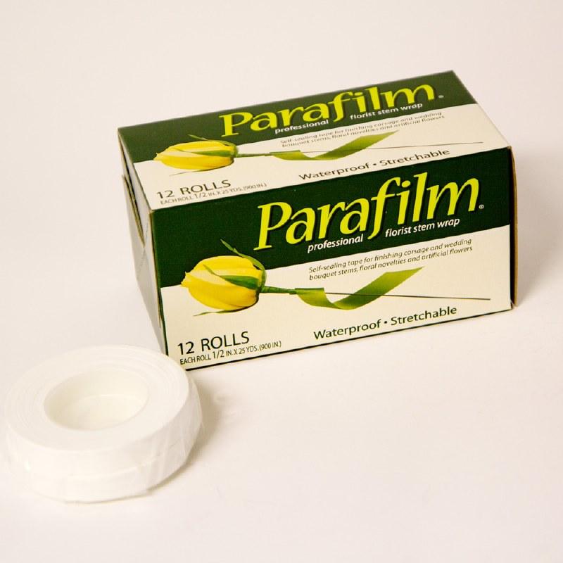 2 x White parafilm tape