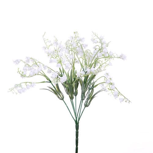 Lily Of The Valley Artificial Plastic Bunch