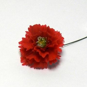 Plastic Florist Christmas Pick Rose Of Sharon Assorted Colours