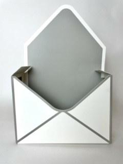 Envelope Flower Box Pale White x 10