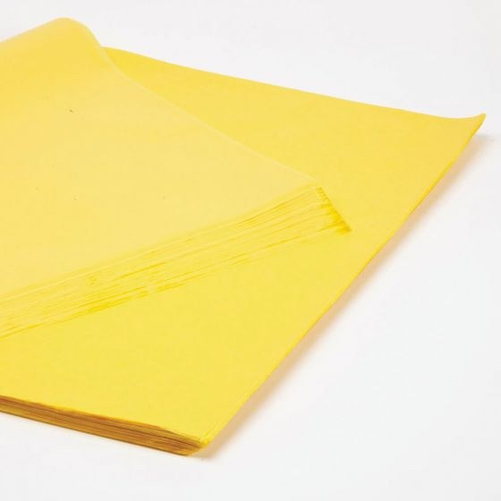 Yellow buttercup tissue paper 50 x 75cm 240 Sheets