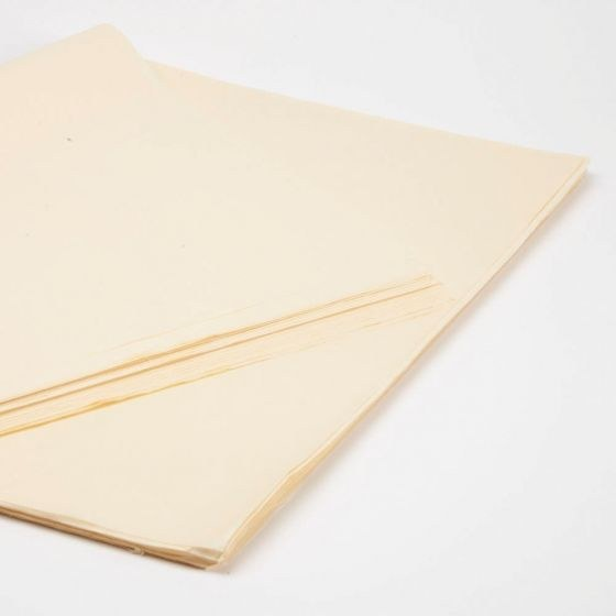 Cream tissue paper 50 x 75cm 240 Sheets