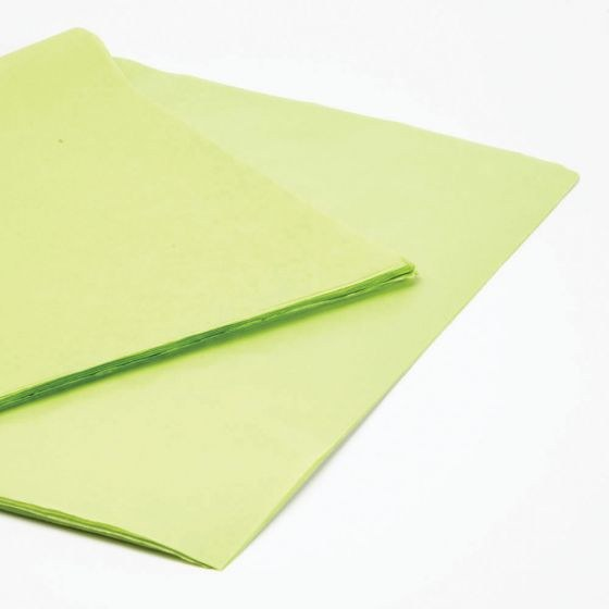 Light Green Florist Tissue Paper 240 Sheets 50 x 75cm