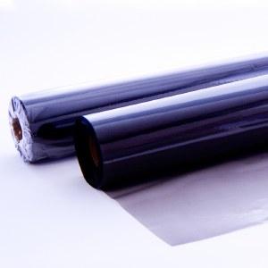 Black tinted florist cellophane
