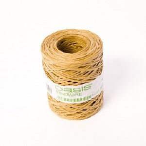 Natural paper covered wire, 0.40mm x 205m