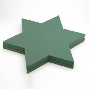 Oasis Floral Foam Star Of David 51x54cm