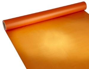Florist Frosted Cellophanr Wrap Orange 80cm x 80m