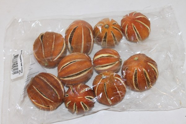 250g dried oranges whole