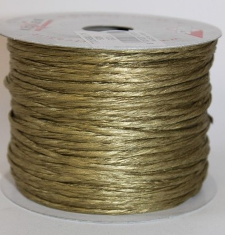 Gold paper covered craft wire 50m