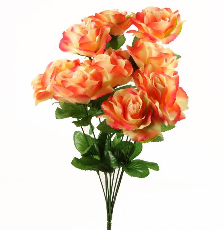 Artificial Rose Bunch x 10 Stems