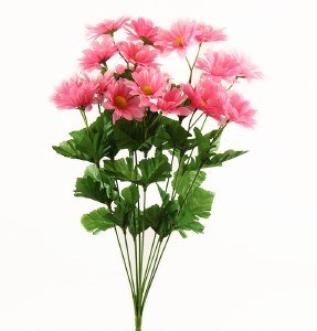 Pink Artificial Daisy Bunch