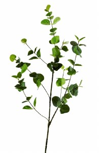 Artificial Eucalyptus Leaves Stem