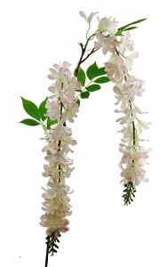 Artificial Wisteria Pale Pink