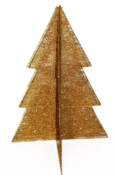 Christmas sisal tree gold 60cm