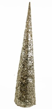 Christmas Sequin Cone Tree 76cm