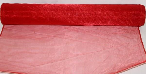 Red organza fabirc 0.4m x 10m