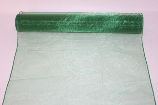 Emerald organza fabric 40cm(approx) x 10m