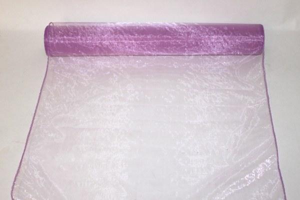 light purple organza fabric 40cm(approx x 10m