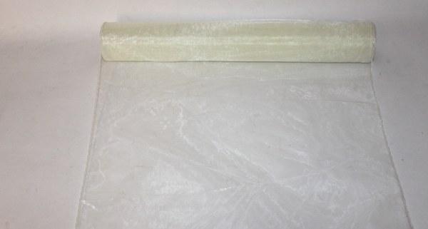 Ivory organza fabric 40cm(approx) x 10m
