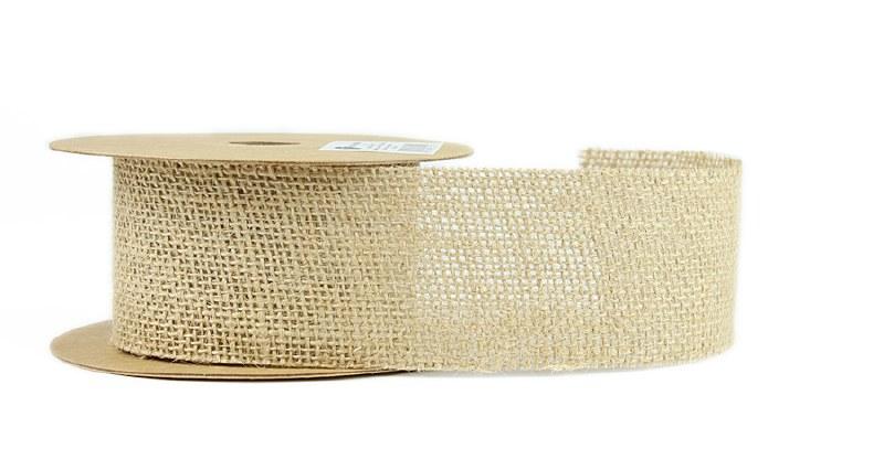 Hessian Ribbon Roll 5cm x 5yards