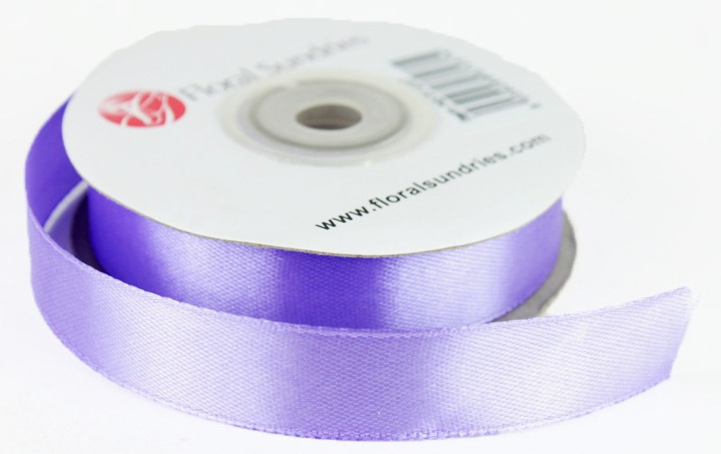 Satin Ribbon Lavender 15mm x 25 Yards