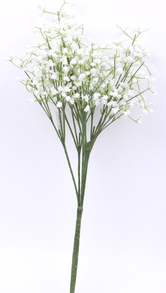 6 stem Gypsophilia bush, stems-45cm