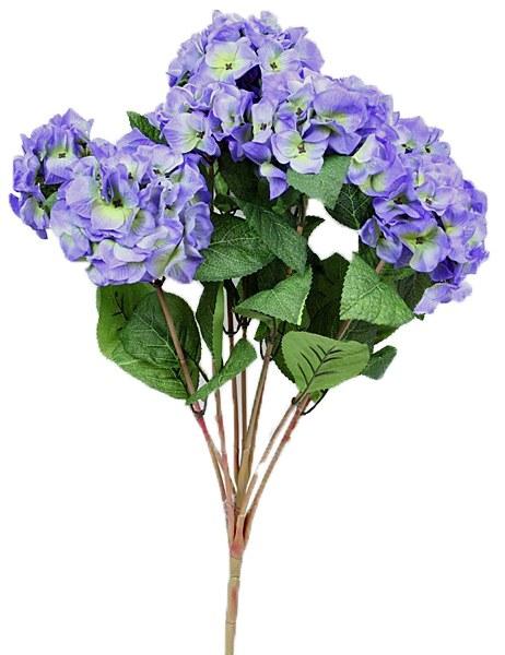 Light violet blue artificial Hydreangea flower bunch