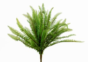 "Artificial Boston Fern Plant 16.5"""