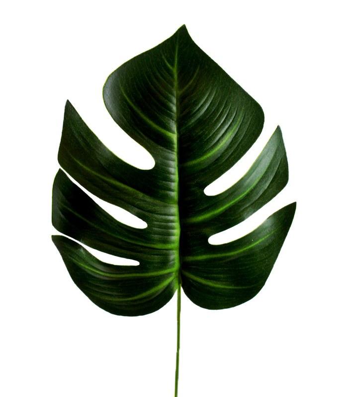 """Artificial Deliciosa Leaf 24"""""""
